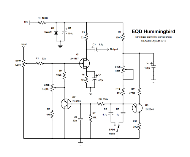 perf and pcb effects layouts: earthquaker devices hummingbird hummingbird wiring diagram auto coil wiring diagram