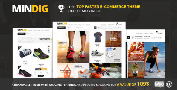 Mindig - A Flat & Multipurpose Ecommerce Theme - shopping