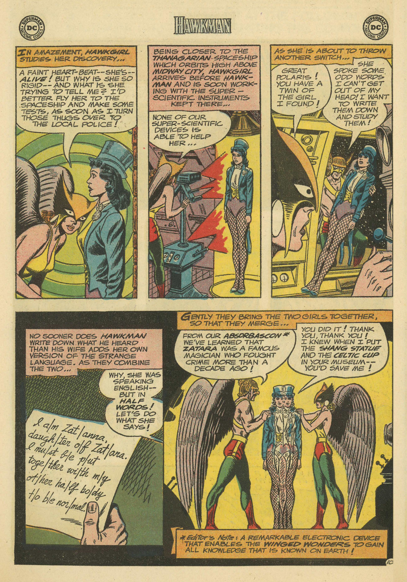 Hawkman (1964) issue 4 - Page 14