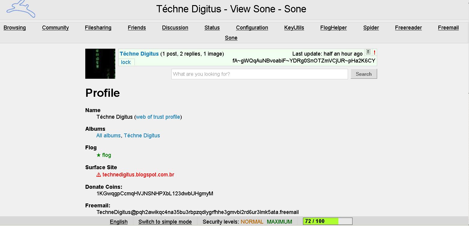 Perfil TechneDigitus