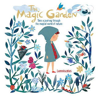 The Magic Garden - As Chloe walks through her garden the wind whispers to her, beckoning her to pay attention to all the magic around her. From the leaves to the bees to the bugs to the snakes and more, there is so much to see and learn about in Chloe's garden. #TheMagicGarden #NetGalley #ChildrensLit #PictureBook