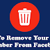 Remove Contact From Facebook