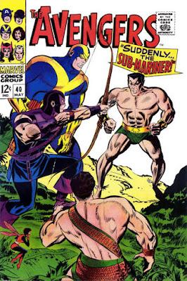 Avengers #40, Sub-Mariner