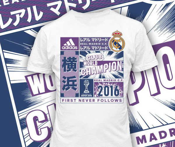 55c634bf377 Insane Real Madrid 2016 FIFA Club World Cup Winners Shirt Unveiled ...