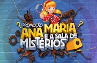 Promoção Ana Maria e a Sala de Mistérios misterioanamaria.com.br