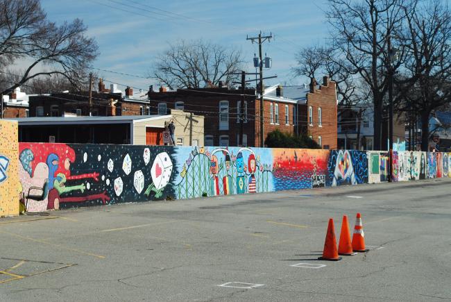 RVA Street Art; The GRTC Bus Depot (Part III)   Yeti Crafts