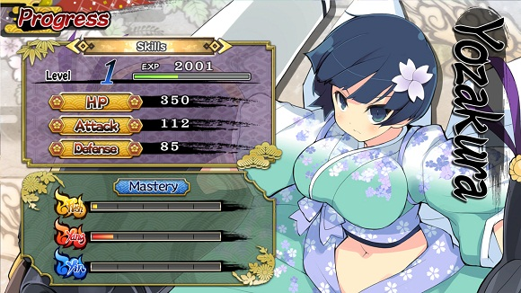 Senran Kagura Shinovi Versus PC Full Version Screenshot 1