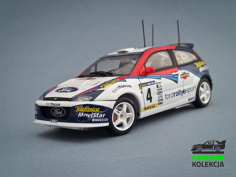 AUTOart Ford Focus RS WRC02 Rallye Catalunya Costa Brava Rallye de España 2002