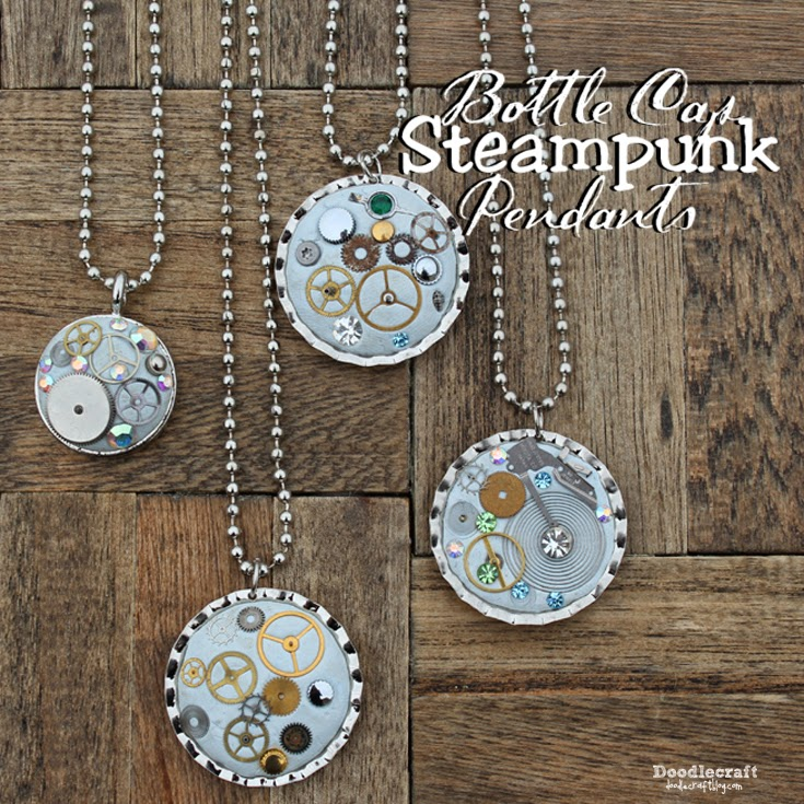 http://www.doodlecraftblog.com/2015/03/steampunk-bottle-cap-necklace.html