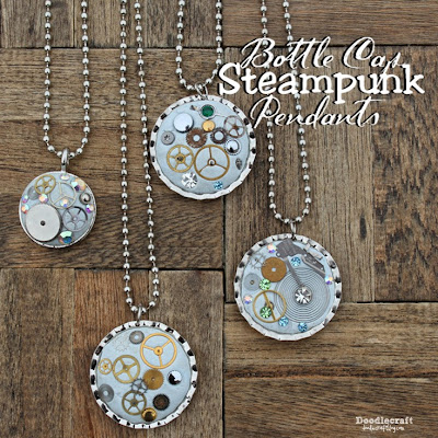 http://www.doodlecraftblog.com/2015/03/steampunk-bottle-cap-necklace.html