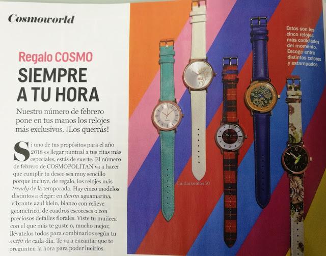 Regalo febrero Revista Cosmopolitan