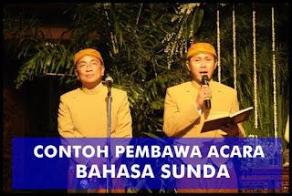 Contoh Teks Naskah Pembawa Acara Bahasa Sunda