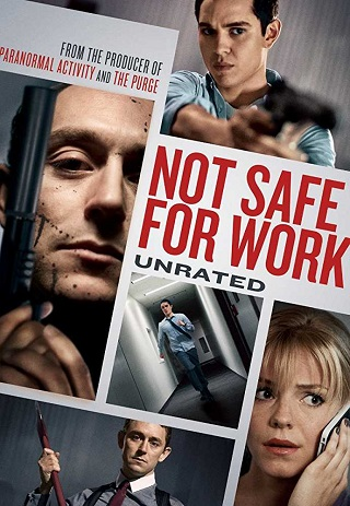 Not Safe for Work 2014 UNRATED Dual Audio Hindi 250MB BluRay 480p