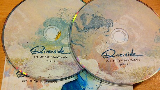 RIVERSIDE - Eye Of The Soundscape [2CD] (2016) discs