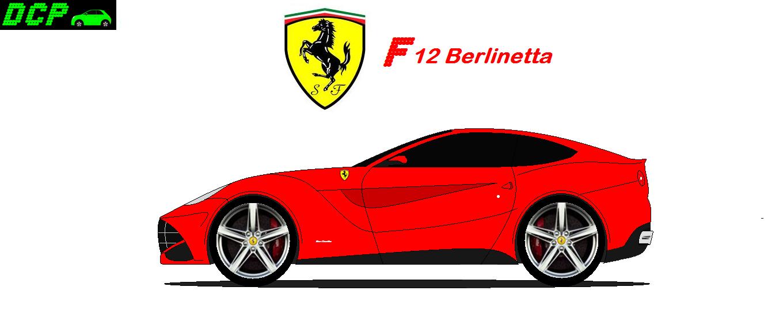 Ferrari Berlinetta - DCP Design