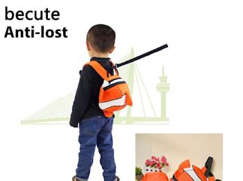 Gunakan 'Baby Harness' Sebagai Langkah Keselamatan Anak Anda di Tempat Awam