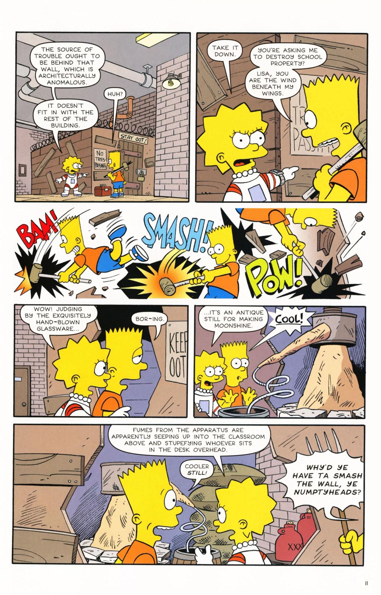 Read online Simpsons Comics Presents Bart Simpson comic -  Issue #53 - 13