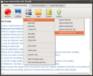 oCam Free Download - Easy & Powerful Screen Recorder,Ocam merupakan software perekam layar yang sangat ringan,Free Download OCam Perekam Layar Terbaru,Link Download OCam Perekam Layar Terbaru