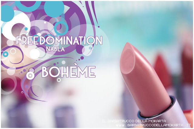 boheme nabla cosmetics review freedomination collection summer lipstick diva crime