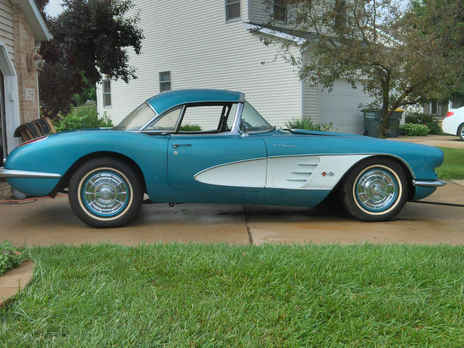 1958 Corvette Barn Find Is A Real Treat Or Is It