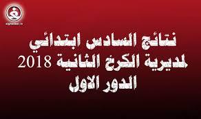 نتائج السادس الابتدائي العراق الدور الاول 2018 :نتيجة الصف السادس بجميع المحافظات العراقية - موقع وزارة التربية العراقية وموقع السومرية نيوز