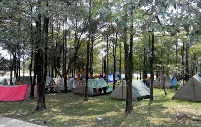 Wisata Alam Bumi Perkemahan Karang Kitri di Bekasi
