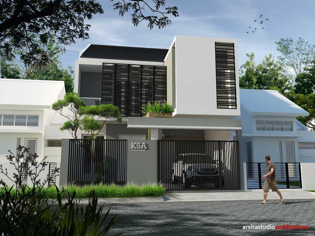 Desain Rumah Minimalis Warna Hitam Putih Lemari Dapur Warna Hitam