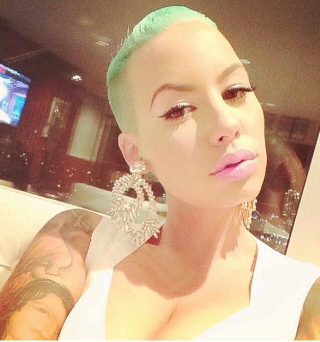 Superb Chimakadharoka2012 Amber Rose New Hairstyle 2015 Short Hairstyles For Black Women Fulllsitofus
