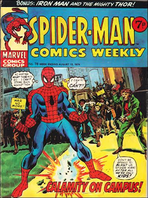 Spider-Man Comics Weekly #78, Gil Kane