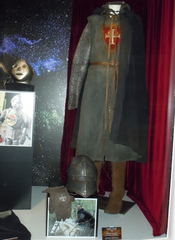 Robin Hood movie costume exhibit