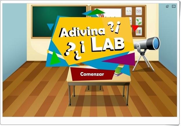 """Adivina Lab"" (Lengua española de 3º y 4º de Primaria)"