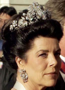 Hanover Floral Tiara Princess Victoria Louise Caroline Monaco
