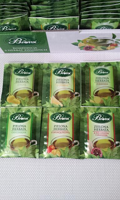 Zielona herbata z dodatkami Bifix