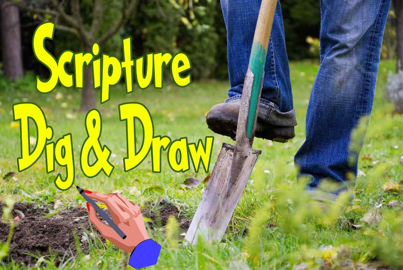 HollysHome - Church Fun: LDS Seminary Scripture Dig & Draw