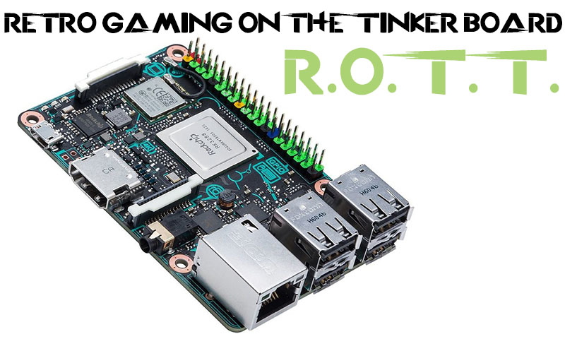 Retro Gaming on the Tinker Board