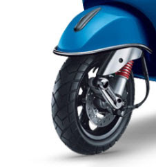 New Vespa SXL 125 front wheel