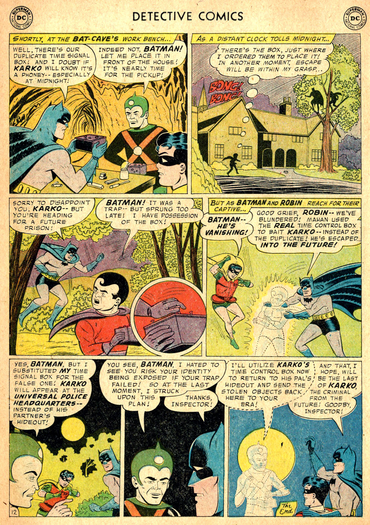 Read online Detective Comics (1937) comic -  Issue #257 - 14