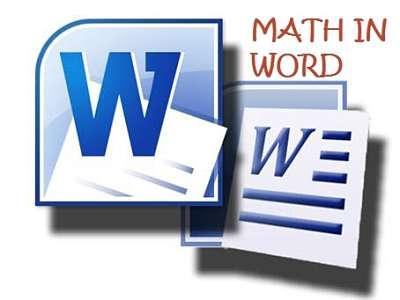 Cách gõ công thức toán học trong word