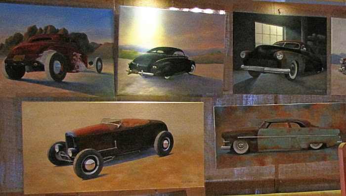 art paintings cars