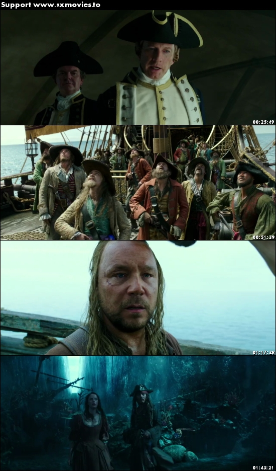 Pirates of the Caribbean Dead Men Tell No Tales 2017 English 480p WEB-DL 350MB ESubs
