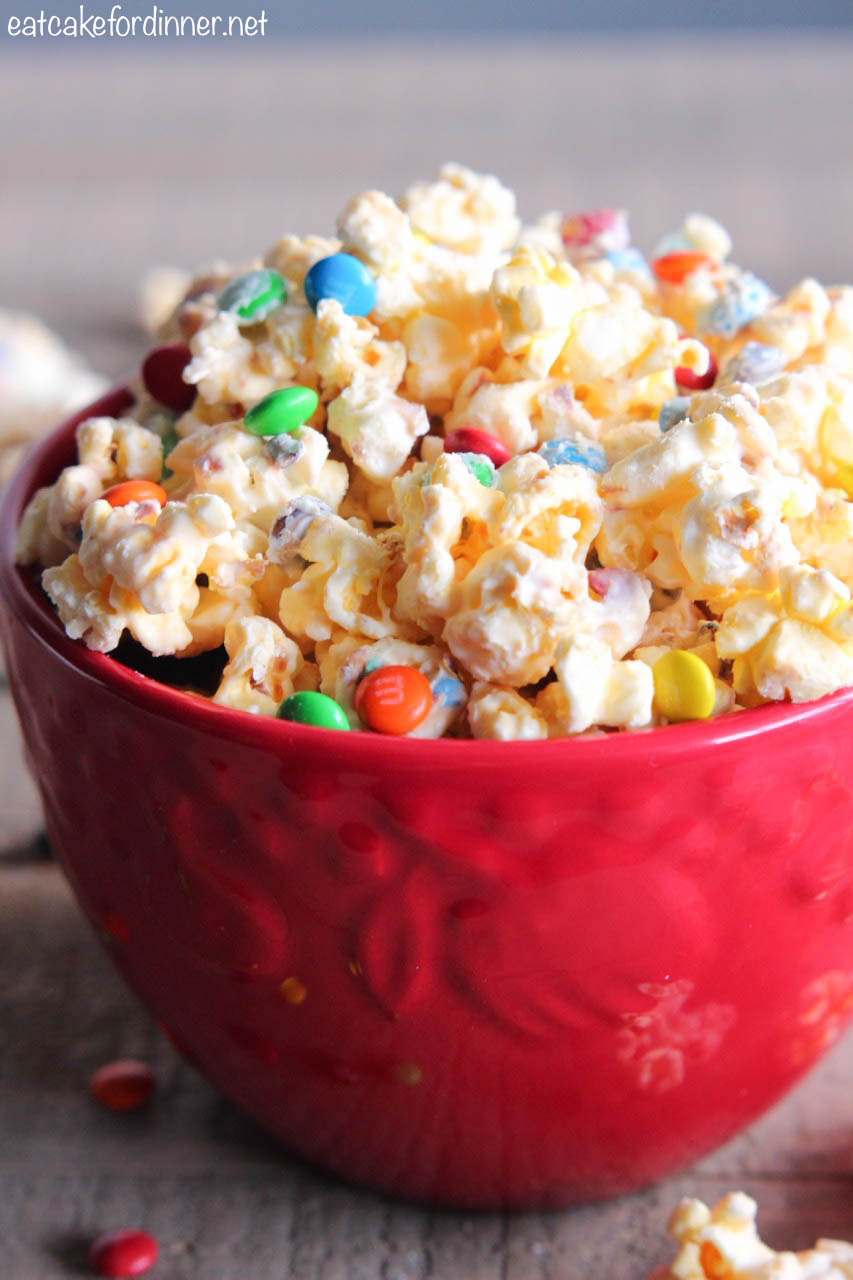 Eat Cake For Dinner Best Ever White Chocolate Popcorn