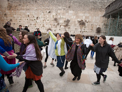 Kotel - Women Praying - Jerusalem Israel