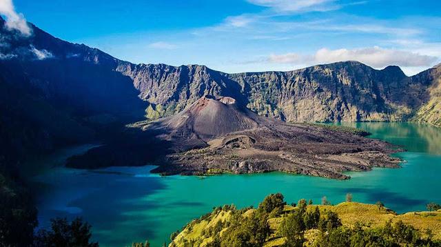 Keindahan Nusantara di Gunung Rinjani Lombok