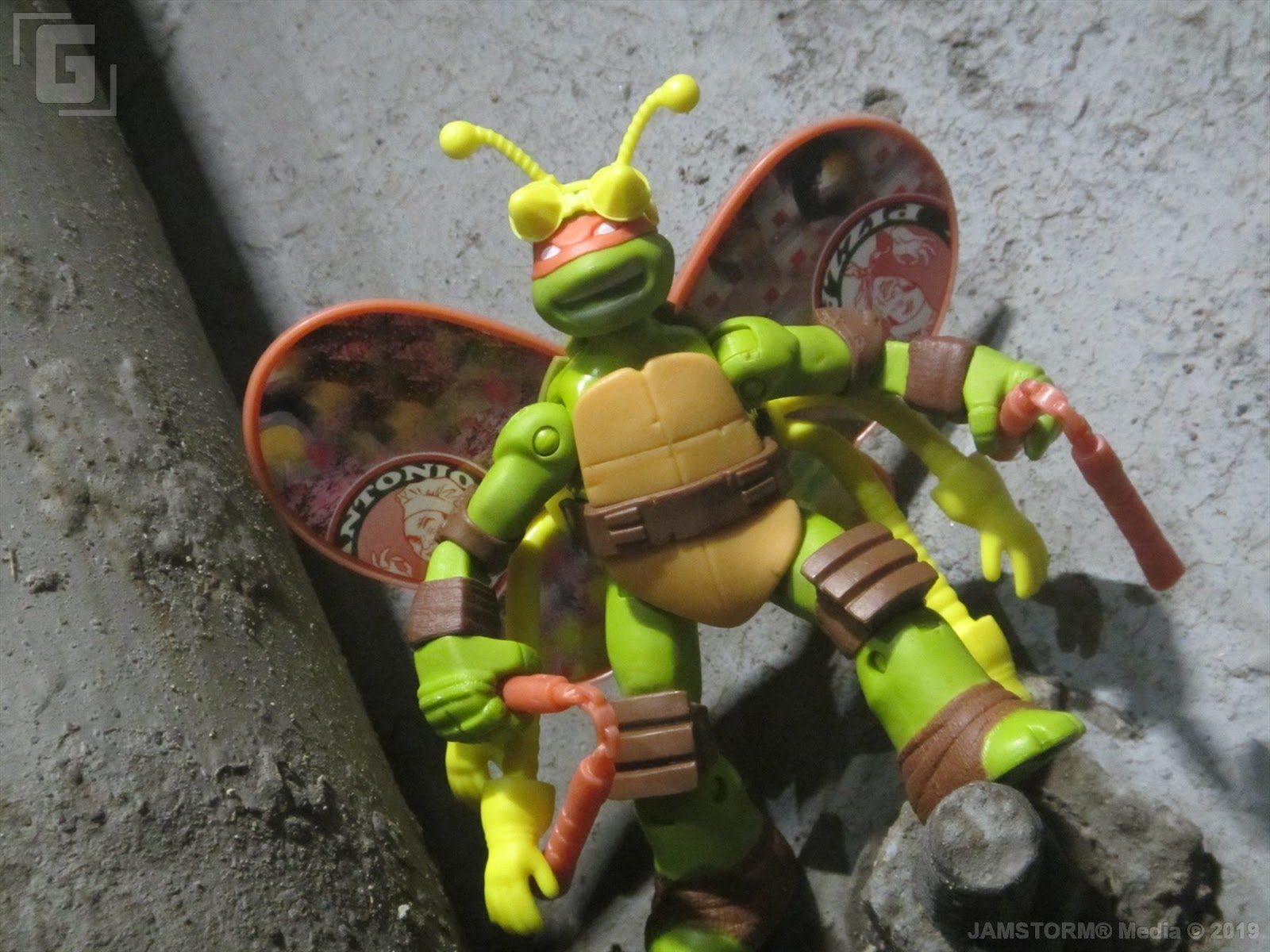 Geekmatic Tmnt 2012 Basic Mikey Turflytle