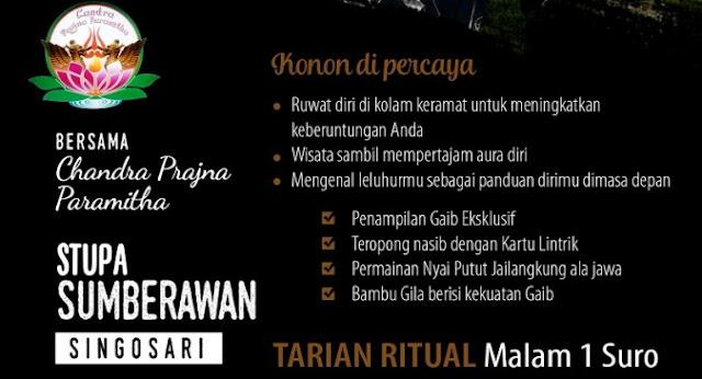 Wisata Supranatural Tarian Ritual 1 Suro Sumberawan