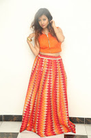Shubhangi Bant in Orange Lehenga Choli Stunning Beauty ~  Exclusive Celebrities Galleries 077.JPG