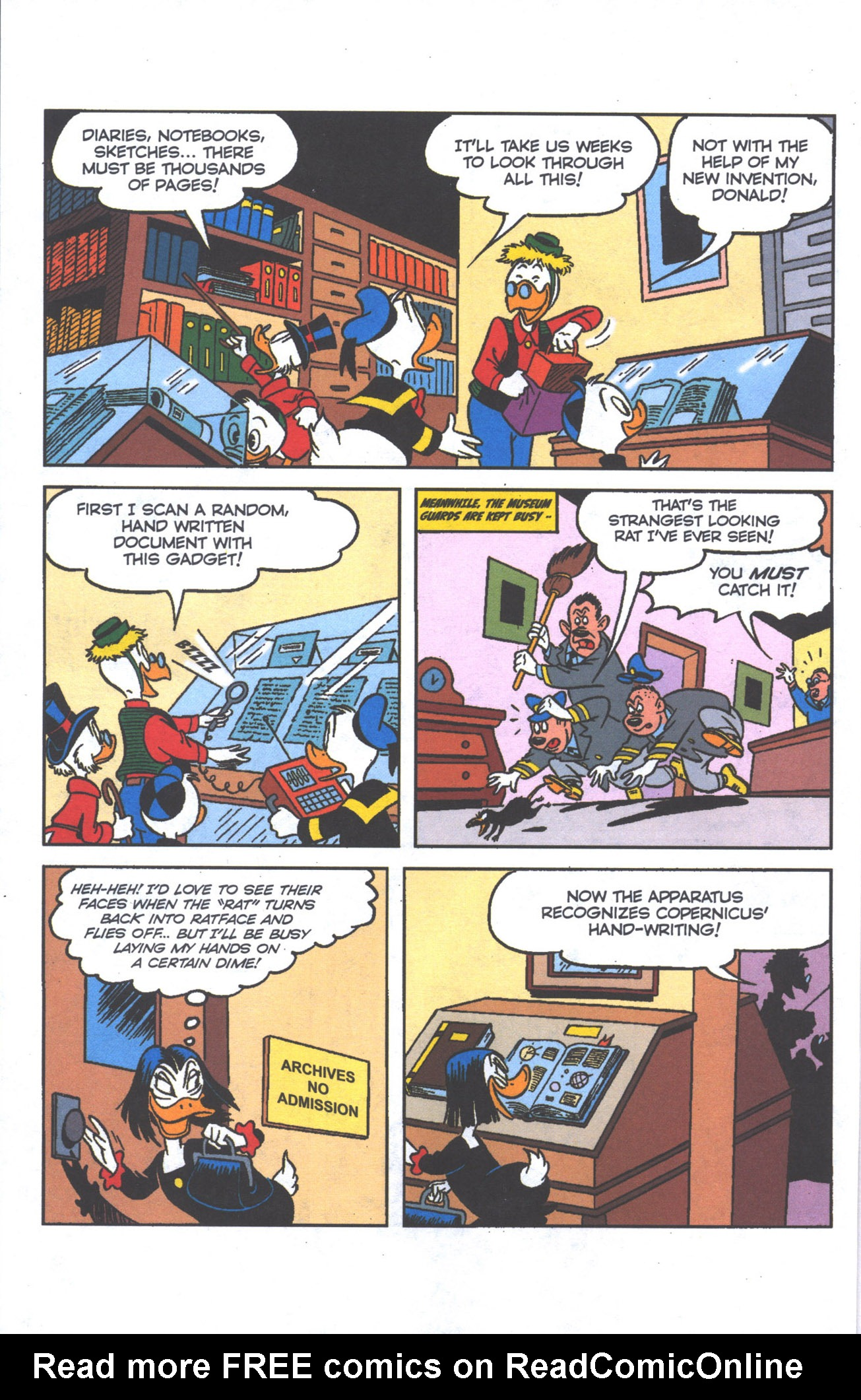 Read online Uncle Scrooge (1953) comic -  Issue #384 - 23