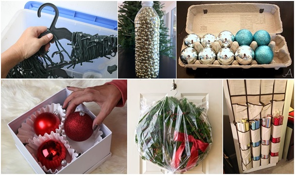 15 Smart Tips for Storing & Organizing Holiday Decorations