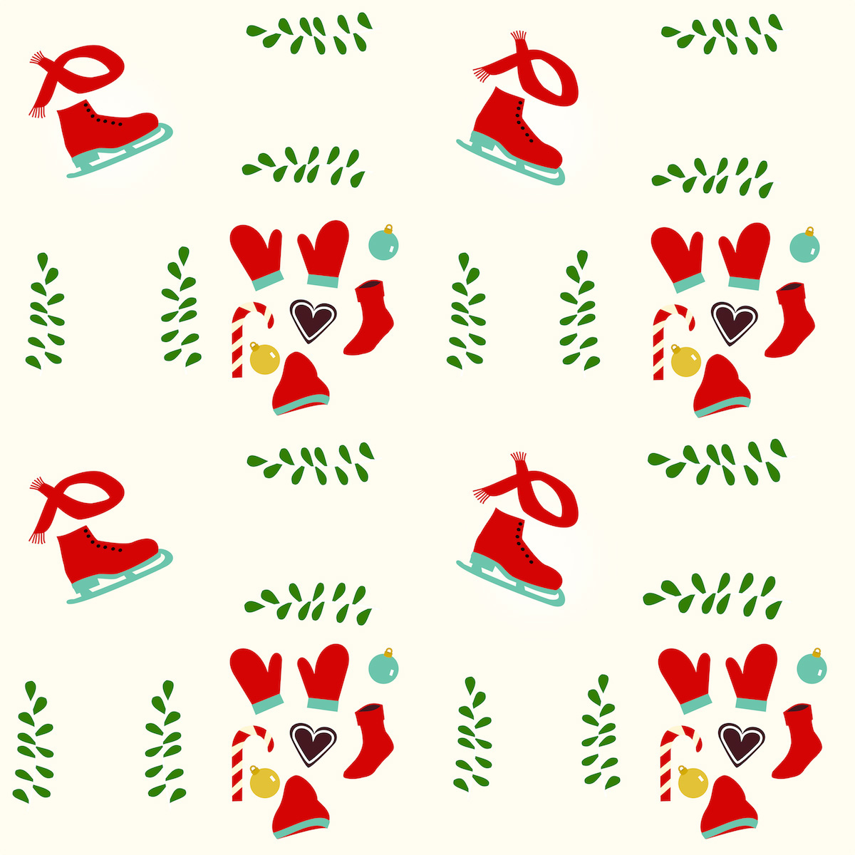 Free Digital Holiday Scrapbooking Paper
