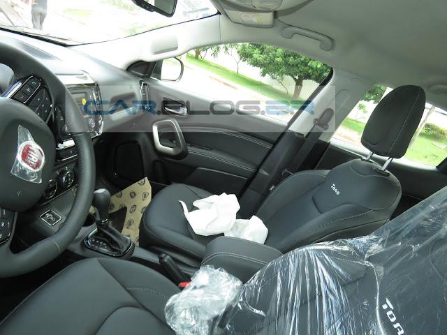 Fiat Toro 1.8 Flex Automática  - Freedom - interior